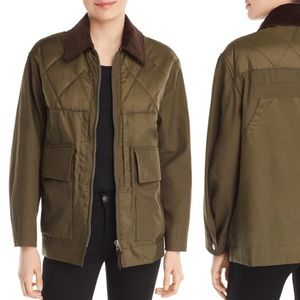 BURBERRY Andleforth Quilted Corduroy Jacket \\ M